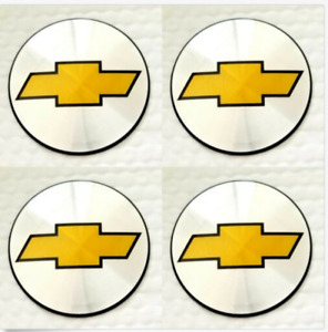 4 New Wheel Center Cap Logo Sticker Decal Emblem 3 5 88mm Chevy Chevrolet
