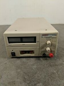 Tenma 72 7660 Dc Regulated Power Supply 120vac Out 0 30vdc 10a For Parts
