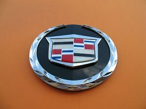 07 08 09 10 11 12 13 14 Cadillac Escalade Front Emblem Logo Badge Sign A3868