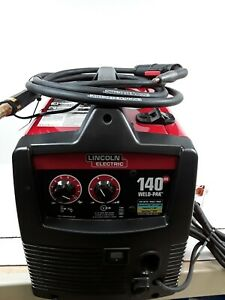 Lincoln Electric Weld pak 140hd Wire Feed Welder W carry Case Nice