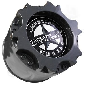 American Outlaw Wheels Gloss Grey Wheel Center Cap Bc 894 1 Cap New Snap In