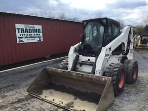 2005 Bobcat A300 All Wheel Steer Skid Steer Loader W Cab 2spd High Flow