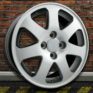 15 Machined And Silver Wheel For 1999 2005 Honda Civic By Revolve