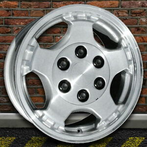 16 Machined And Silver Wheel For 99 02 Chevy Silverado 1500 By Revolve