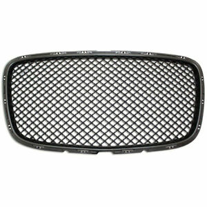 Mesh Replacement Grille Fits 15 16 Chrysler 300 Black Bentley Style Premium Fx