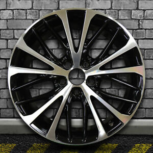 Gloss Black Machined Bright Factory Wheel For 2018 Toyota Camry 18x8