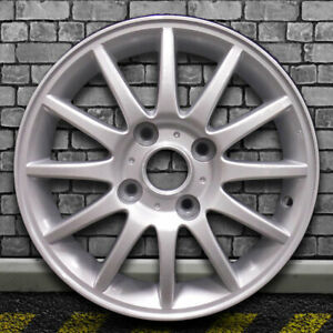 Full Face Bright Sparkle Silver Oem Wheel For 2004 2005 Suzuki Forenza 15x6