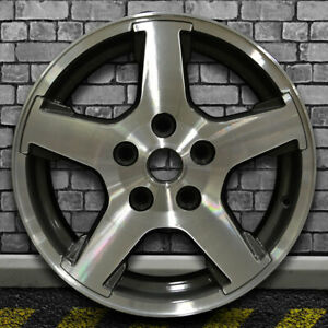 Dark Metallic Charcoal Oem Wheel For 2005 2007 Jeep Grand Cherokee 17x7 5