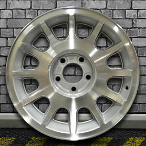 Sparkle Silver Machined Oem Factory Wheel For 1998 02 Ford Crown Victoria 16x7
