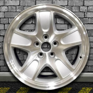 Machine Texture Sparkle Silver Oem Wheel For 2001 02 Ford Crown Victoria 17x7