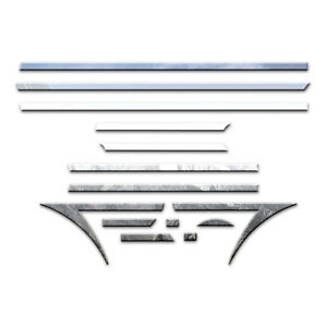 14pc Luxury Fx Chrome 1 Arrow Accent Trim Fit For 2010 2014 Cadillac Cts