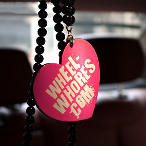 Wheel Whores Com 3d Car Auto Rearview Interior Pendant Ornament Hanging Charm