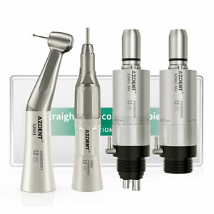 Dental Slow Low Speed Handpiece Contra Angle Straight Air Motor 2 4 Hole E type