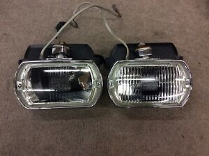 Real 1969 1970 Shelby Land Rover Jaguar Lucas Fog Lights Lt8 Lr8