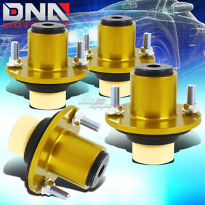 For Civic Eg Ek Db Dc Aluminum Coilover Spring Strut Shock Mount Top Hat Gold