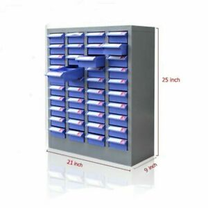 Parts Storage Cabinet Drawer Type Floor to ceiling Cabinet 40 Drawers