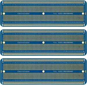Electrocookie Solderable Breadboard Large Pcb Board For Arduino And Electronics