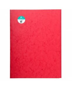 Exacompta Package Pieces 25 Clipboard 3 Wings Without Flex a4 Red Paper