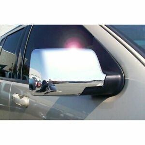 Chrome Mirror Cover Set full For 2006 2010 Ford Explorer