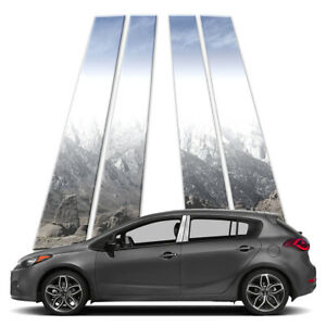 4p Pillar Post Covers Fits 2010 2013 Kia Forte5 Hatchback By Brighter Design