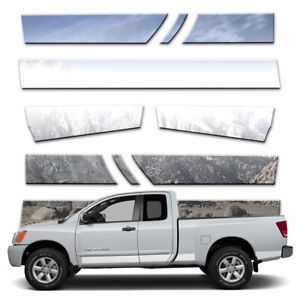 10p 5 1 2 Rocker Panels Fits 04 15 Titan King Cab W O Tool Box Or Guards By Bd