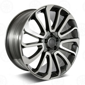 24 Autobiography Style Machined Gunmetal Wheels Fits Lr range Rover Hse Lr3