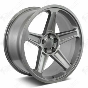 20 Flow Forged Demon Style Gunmetal Wheels Fits Dodge Charger Challenger Magnum