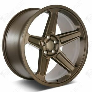 20 Flow Forged Demon Style Bronze Wheels Fits Dodge Charger Challenger Magnum