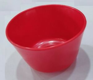 New Dental Product Material Instruments Mixing Rubber Bowl Red Colour Small S