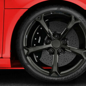 Black Mgp Caliper Covers For 2015 2017 Chevy Ss Fits Brembo