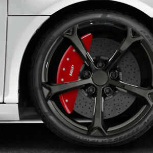Red Mgp Caliper Covers Fits 2015 2019 Mercedes Benz C300 W Sport Pkg