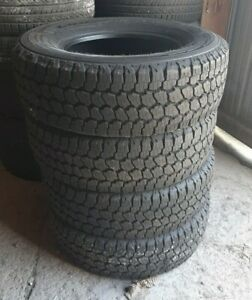 Set Of 4 Michelin Ltx At2 275 70r18 E 10 Ply Tires Takeoff Excellent