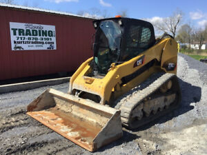 2012 Caterpillar 279c2 Compact Track Skid Steer Loader W Cab Good Tracks Cheap