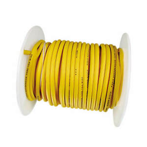 160090 Accel Spark Plug Wire Roll Super Stock Copper Core 7mm 100ft Yellow