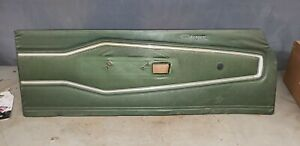 1970 70 Dodge Charger Left Driver Door Panel Panel Charger Script Rare Green A
