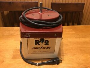 Robot Coupe R2 Base Unit Only Tested Works Commercial Food Processor