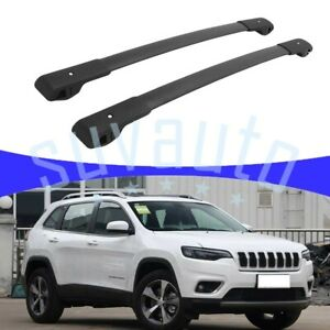 Us Stock Cross Bar Fit For Jeep Cherokee 2014 2021 Cargo Rack Heavy Duty Roof