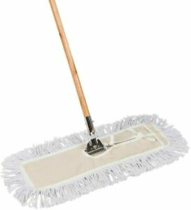 Tidy Tools 24 Inch Cotton Dust Mop 24 X 5 Wide Mop Head With Cut Ends 63