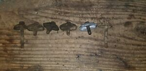 Chevy 216 235 261 Intake exhaust Manifold Clamps And Bolts