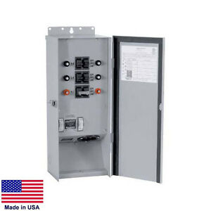 Transfer Switch For Portable Generators 60 Amp 120 240v Up To 7 500 Watts