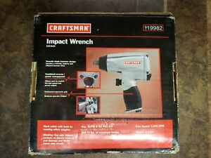 Craftsman 1 2 In Impact Wrench