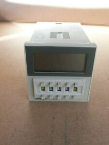 Omron Timer H3ca a 24 To 240 Vac 12 To 240 Vdc New No Box Free Same Day Ship