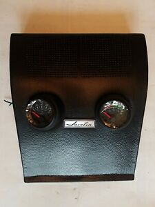 1968 1969 Amc Amx Javelin Center Dash Speaker Grille Overlay Vdo Gauges