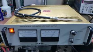 Gamma High Voltage Research Hv Power Supply Pr10 15n m615 Probe Included