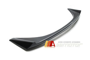 Carbon Fiber Trunk Lip Spoiler Wing Fit For Mitsubishi Lancer Evolution X Evo 10