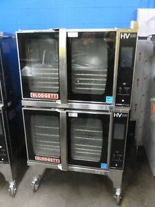 Blodgett Hv 100g Dbl Hydrovection Oven Gas Full Size Double Stack Gently Used