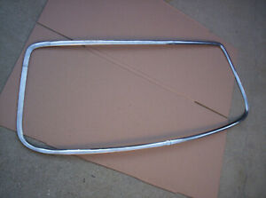 1970 71 72 73 74 Cuda Barracuda Rear Window Glass Trim Molding