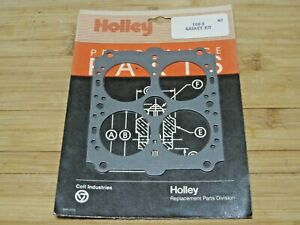Genuine Holley 108 3 Main Body Gaskets 2 1 9 16 585 600 Cfm Double Pumper Vac