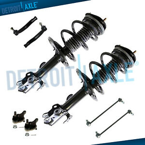 Front Strut Outer Tie Rods Sway Bar Lower Ball Joint For 06 12 Toyota Rav4 3 5l