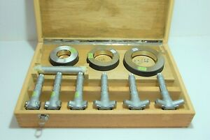 Tesa Brown Sharpe Baj Ad 08 12300 Intrimik Vernier Inside Micrometer Set